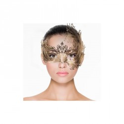 Máscara de Metal Asimétrica...