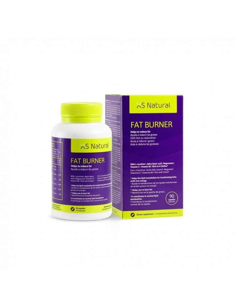 Capsulas Quemagrasas XS Fat Burner