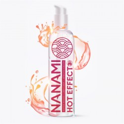 Nanami Water Based Lubricant Hot Effect 150 ml