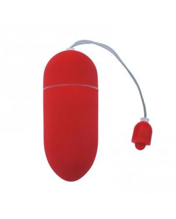 Huevo Vibrador 10 Funciones Rojo