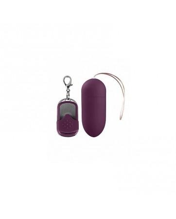 Huevo Vibrador con Control Remoto Dark Purple