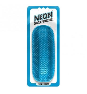 Neon Masturbador Reversible Azul
