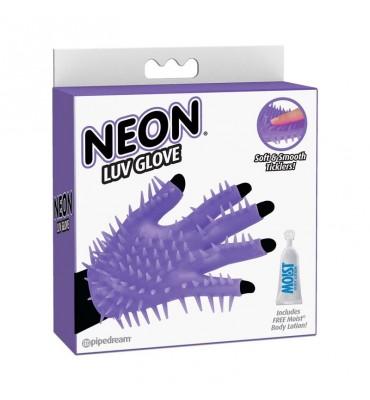Neon Guante Estimulador Purpura