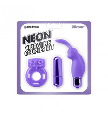 Neon Kit para Principiantes Color Purpura