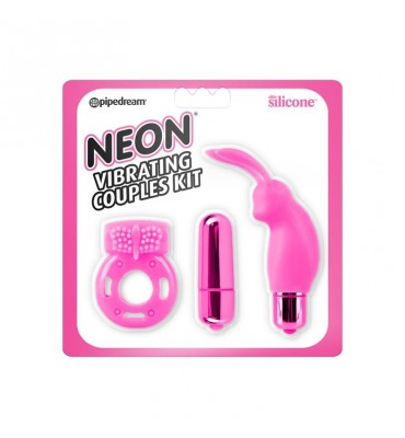 Neon Kit para Parejas Color Rosa