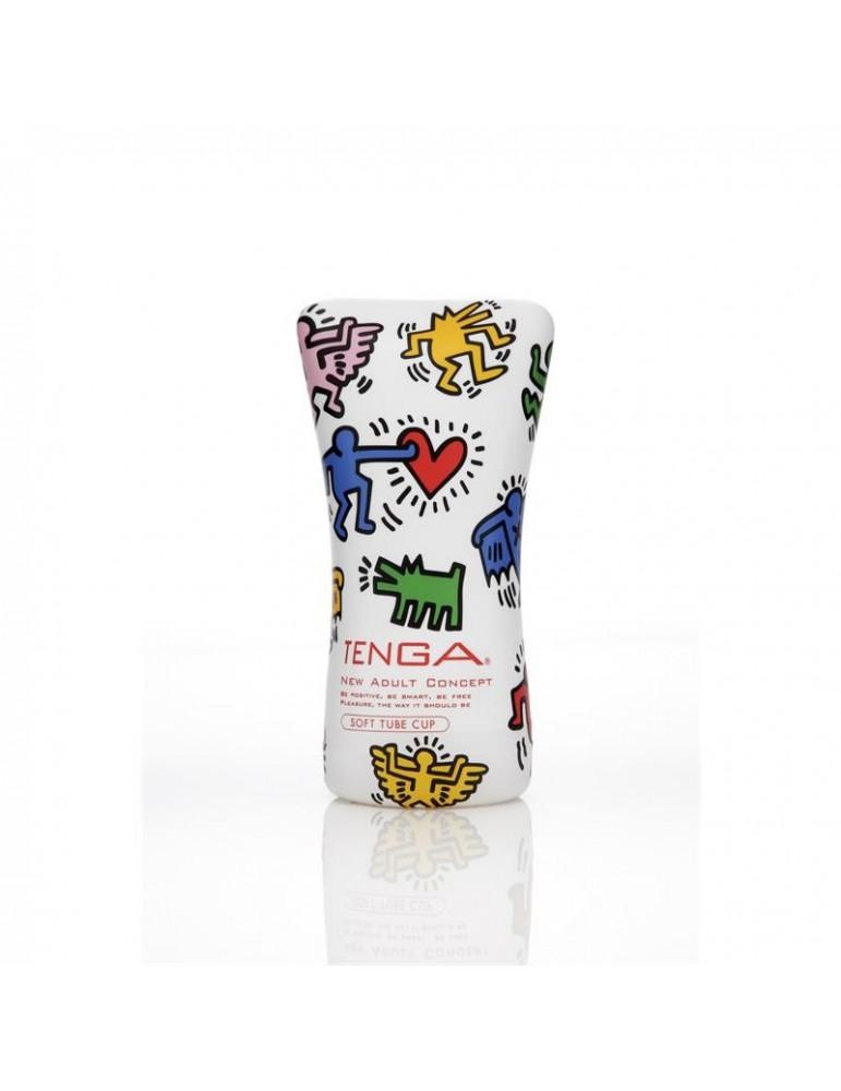 Tenga Masturbador Keith Haring Soft Tube Cup