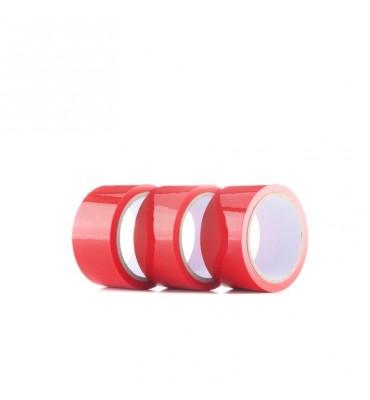 Shots Ouch Pack de 3 Cinta de Bondage Color Rojo