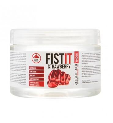 Shots Fist It Lubricante de Fresa Strawberry Extra Thick 500 ml