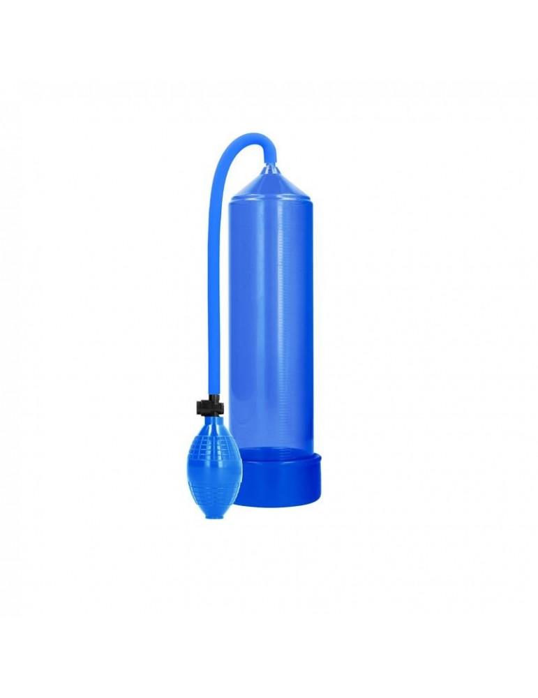 Shots Pumped Succionador de Pene Clasico Color Azul