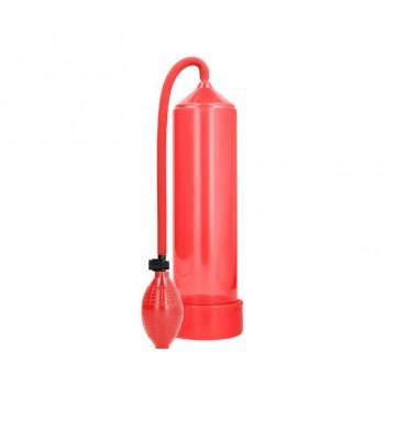 Shots Pumped Succionador de Pene Clasico Color Rojo
