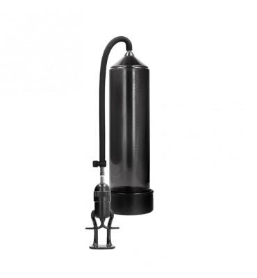 Shots Pumped Succionador de Pene para Principiantes Deluxe Color Negro