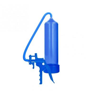Shots Pumped Succionador de Pene para Principiantes Color Azul