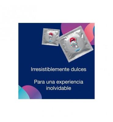 Preservativos Emoji Fresa 12 Unidades
