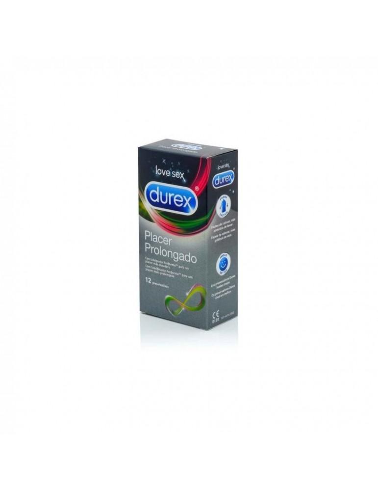Preservativos Placer Prolongado 12 Unidades
