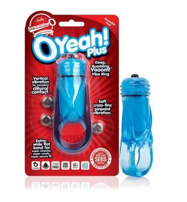 Anillo Oyeah Plus Azul