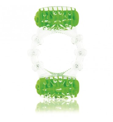 Doble Anillo Colorpop Verde