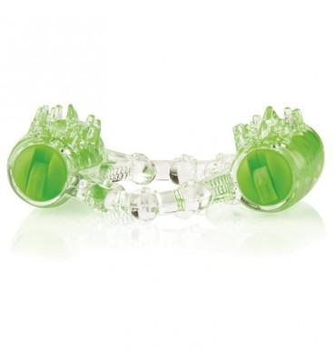 Doble Anillo Colorpop Verde