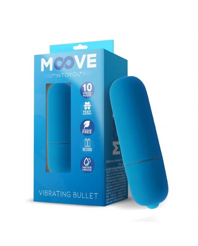 Bala Vibradora 10 Funciones Azul