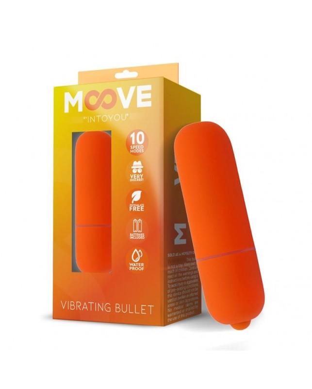 Bala Vibradora 10 Velocidades Naranja