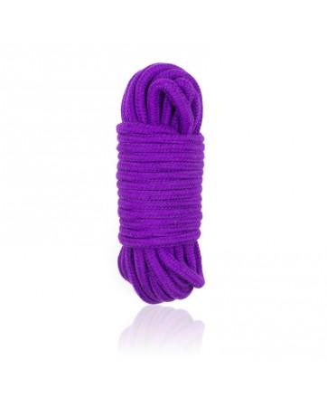 Cuerda de Bondage de Algodon 10 Metros Purpura