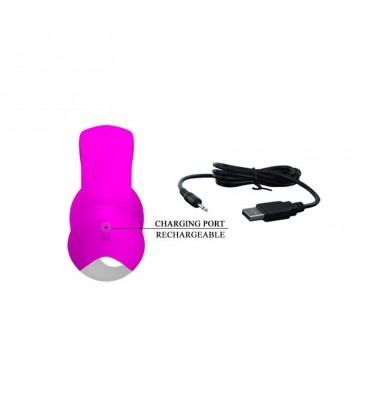 Vibrador Dylan Color Purpura