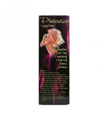 Baile Vibrador Pleasurizer Color Rosa 19 cm