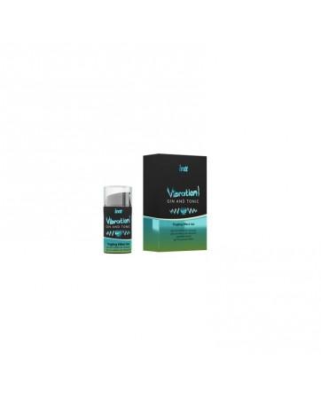 Vibrador Liquido Efecto Calor Gin and Tonic