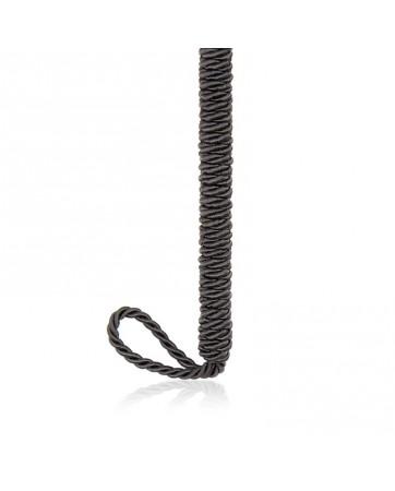Plumas Estimuladoras con Lazo 25 cm Negro