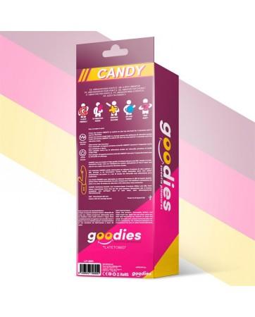Candy Vibrador con Conejito Punto G USB Silicona Fucshia