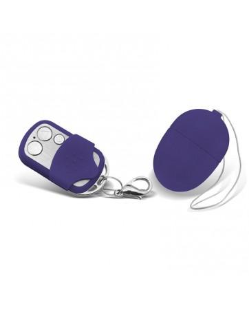 Huevo Vibrador con Control Remoto Mini Purpura