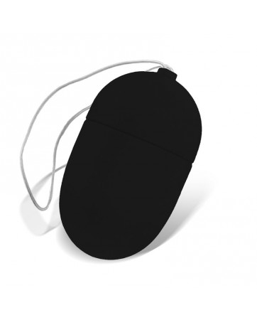 Huevo Vibrador con Control Remoto Tamano Mediano Negro