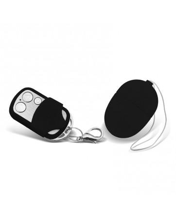 Huevo Vibrador con Control Remoto Mini Negro