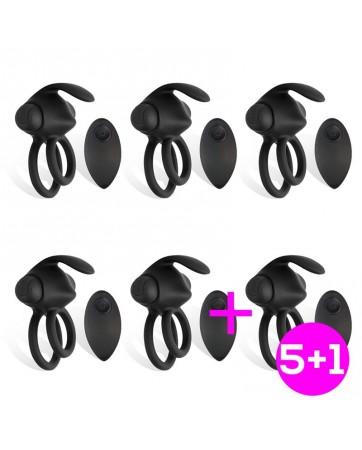 Pack 51 Reerin Anillo Vibrador USB Dual Control Remoto USB