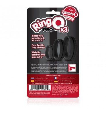 Ringo Pro x3 Color Negro