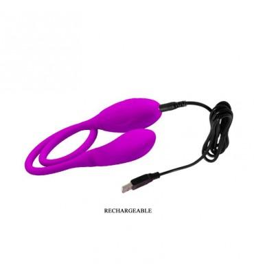 Huevos Vibradores Snaky Vibe Color Purpura