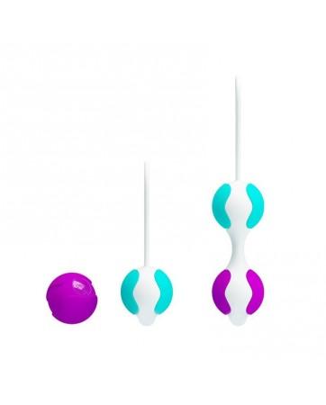 Bolas Kegel Orgasmic Balls Rosa y Azul