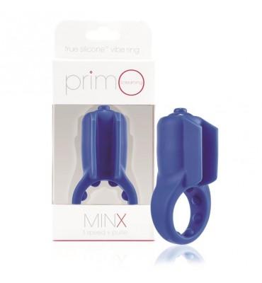 Anillo Primo Minx Azul