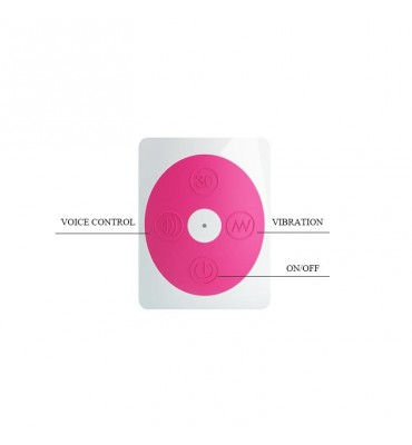 Vibrador Daniel con Control por Voz Color Rosa