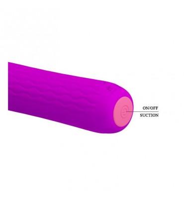 Vibrador Ford USB Silicona Purpura