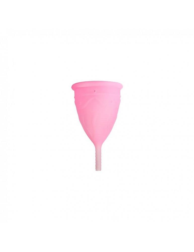 Copa Menstrual eve Rosa Talla L Silicona Platino