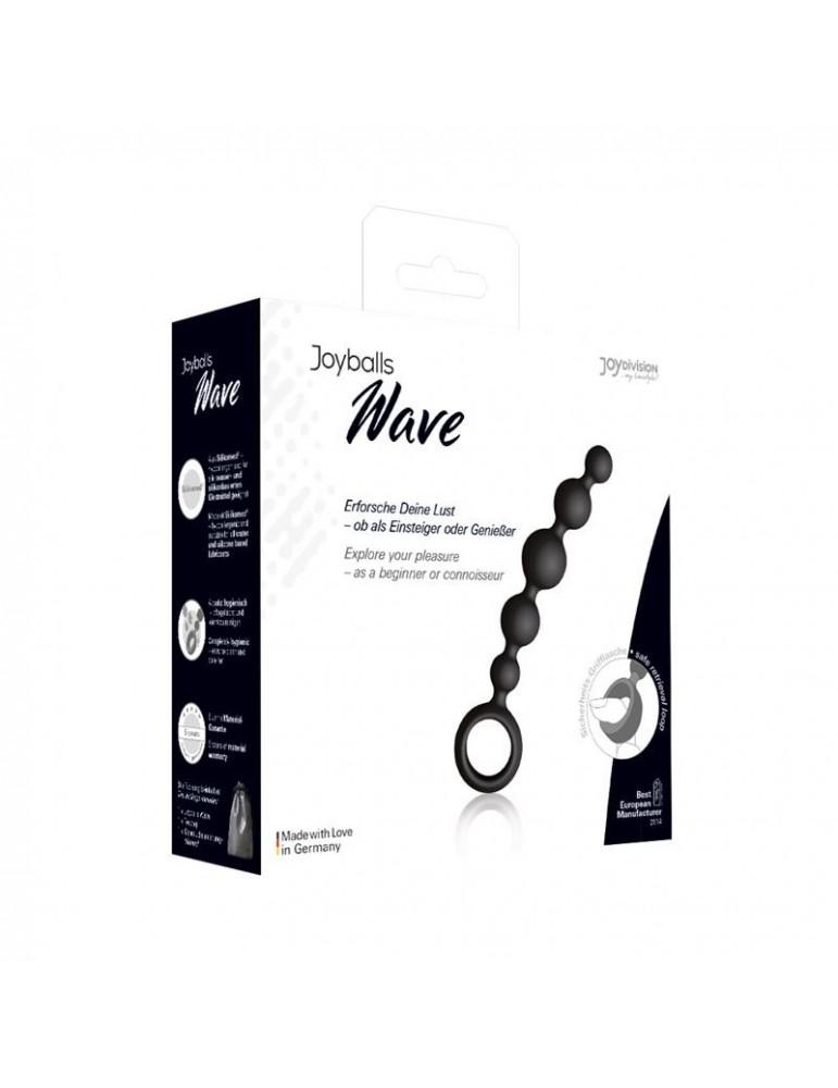 Joyballs Anal Wave Pequena Color Negro
