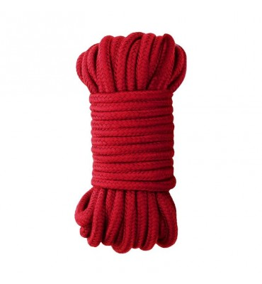 Ouch Japanese Rope 10 Meter Red