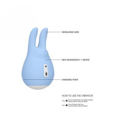 Estimulador del Clitoris Sugar Bunny Azul