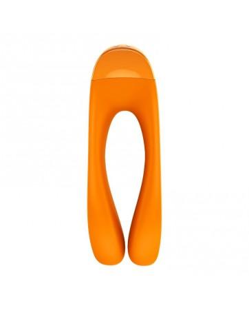 Vibrador Candy Cane Naranja