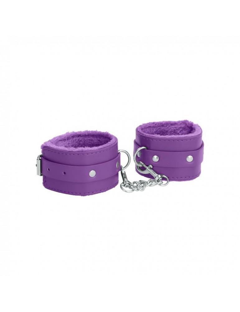 Esposas para Tobillos Color Purpura