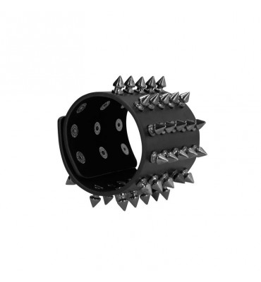 Ouch Skulls and Bones Brazalete con Puas Extreme